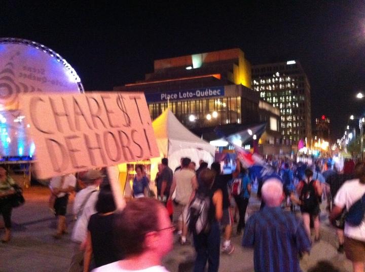 2012-07-13 - 21h54 #manifencours81 (Ste-Catherine est, festival JustePourRire)