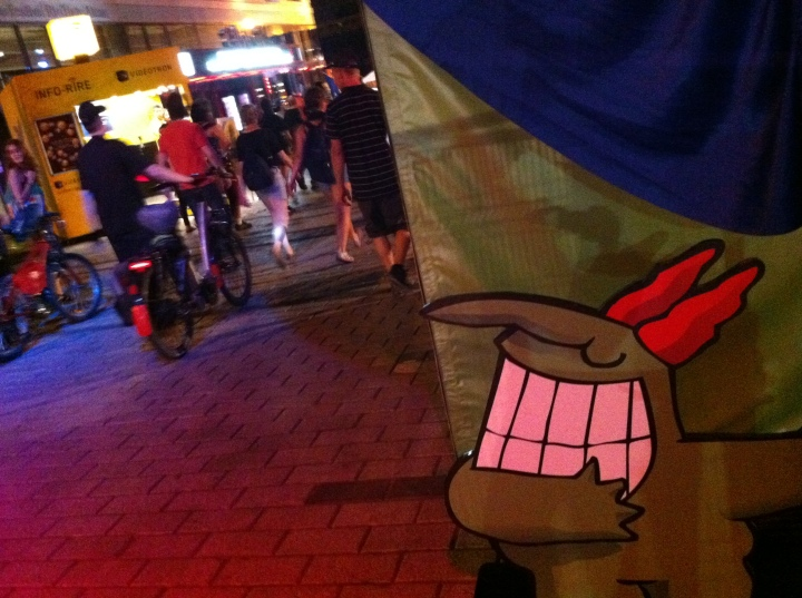 2012-07-15 - 22h13 #manifencours83 (Ste-Catherine) Festival Juste-Pour-Rire
